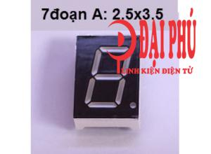 Led 7 đoạn A 0.8inches (2.5cmx3.5cm)